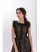 Rochie Black Lace Neagra-Bej