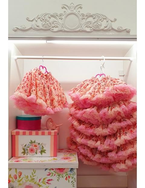 Fustita Floricele Roz