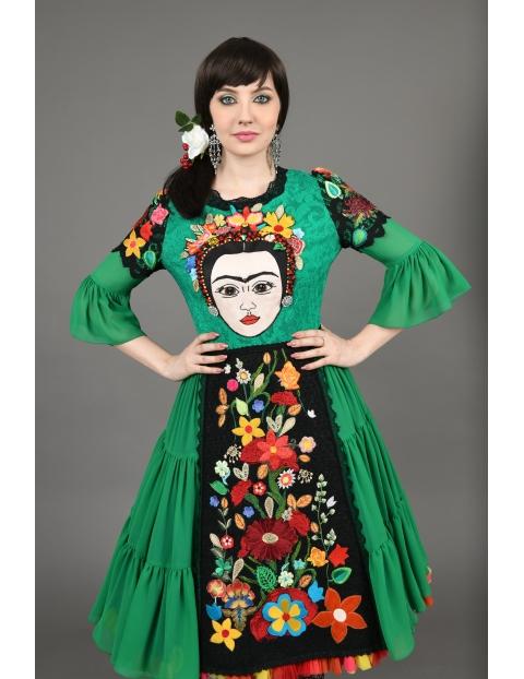 Rochie Frida Verde