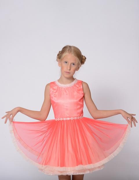 Rochita Coral Colier roz